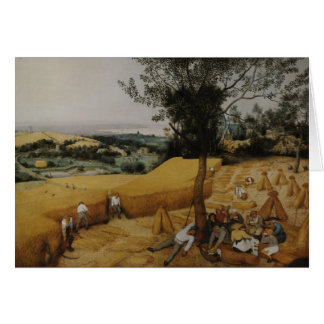 The Harvesters, 1565 - Pieter Bruegel the Elder Card
