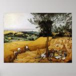The Harvesters by Pieter Bruegel the Elder 1565