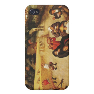 The Harvester's Meal iPhone 4 Cover