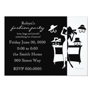 The Hat Sale 13 Cm X 18 Cm Invitation Card