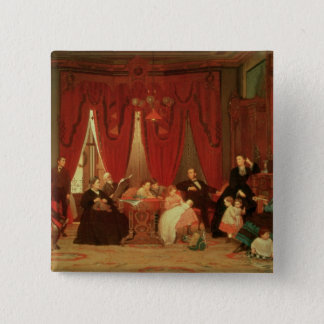 The Hatch Family, 1870-71 15 Cm Square Badge