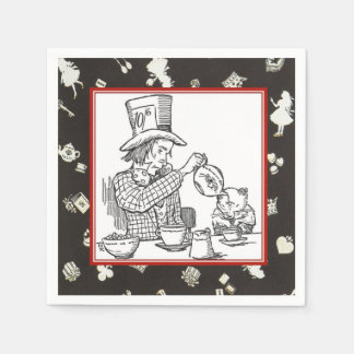 The Hatter and Dormouse Disposable Napkins
