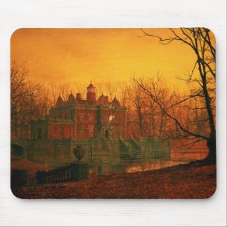 The Haunted House Mouse Mat