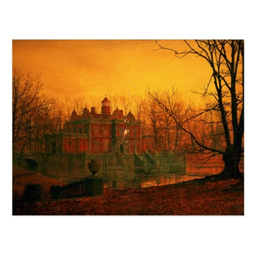 The Haunted House Post Cards