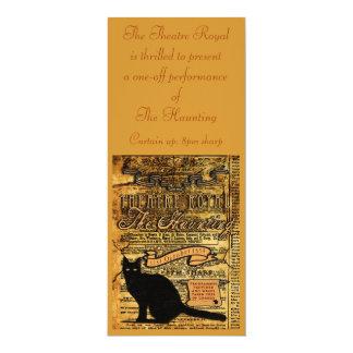 The Haunting 10 Cm X 24 Cm Invitation Card