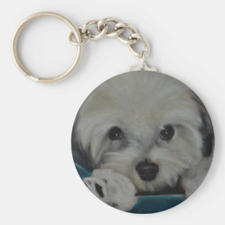 The Havanese Key Ring