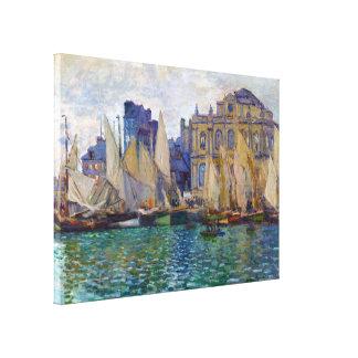 The Havre Museum Claude Monet Canvas Prints