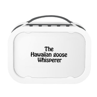 the hawaiian goose whisperer lunch boxes