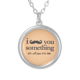 the hawaiian goose whisperer round pendant necklace
