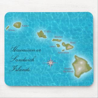 The Hawaiian Islands Mouse Pad