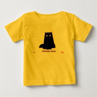 The Hawghead Brand Halloween Again Cat by da'vy Baby T-Shirt