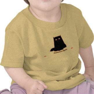 The Hawghead Brand Halloween Again Cat by da'vy Tee Shirts