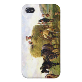 The Hay Harvest, 1869 iPhone 4 Cases