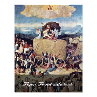 The Hay Wagon By Hieronymus Bosch Best Quality Flyer