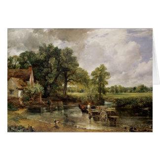 The Hay Wain, 1821 Greeting Card