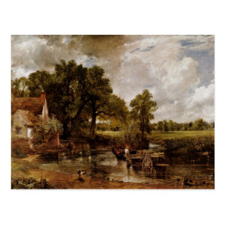 The Hay Wain By Constable John Best Quality Post Card
