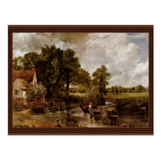 The Hay Wain By Constable John Best Quality Post Cards