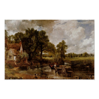 The Hay Wain By Constable John (Best Quality) Poster