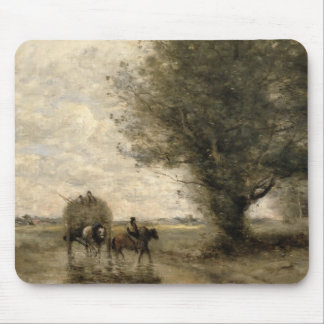 The Haycart, c. 1860 Mouse Mat