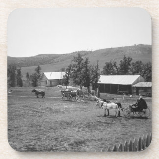 The Haylie Ranch, Crook County, Wyoming, c.1890 (b Beverage Coasters