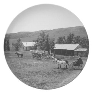 The Haylie Ranch, Crook County, Wyoming, c.1890 (b Plate