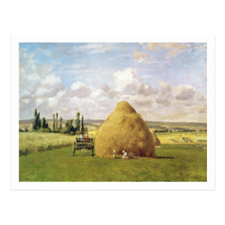 The haystack, Pontoise, 1873 Postcard