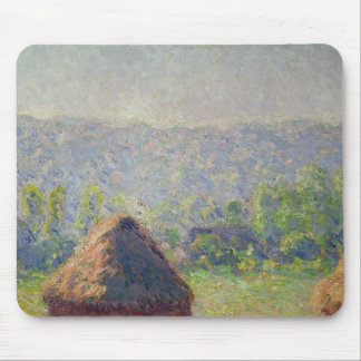 The Haystacks or, The End of the Summer, at Givern Mousepad