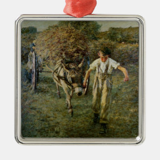 The Haywain, c.1889 (oil on canvas) Christmas Ornament