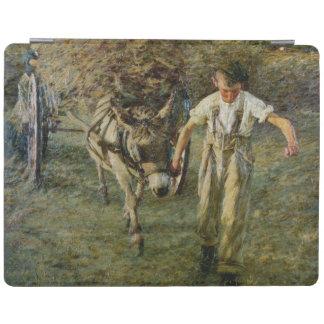 The Haywain, c.1889 (oil on canvas) iPad Cover
