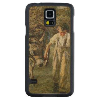The Haywain, c.1889 (oil on canvas) Maple Galaxy S5 Case