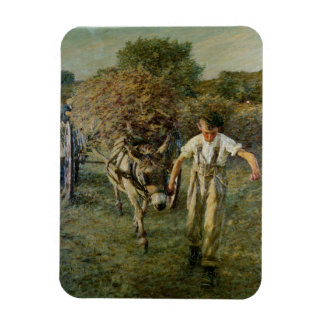 The Haywain, c.1889 (oil on canvas) Rectangular Photo Magnet