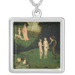 The Haywain Square Pendant Necklace