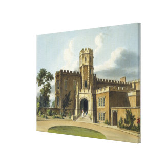 The Head Master's House, Rugby School, from 'Histo Canvas Print