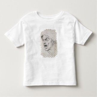 The head of a man screaming in terror, a study for toddler T-Shirt