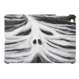 The Head of Leviathan (black and white surrealism) iPad Mini Cover