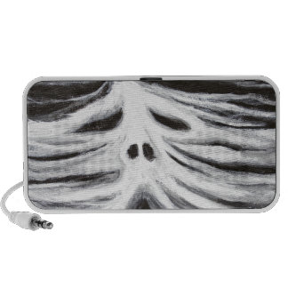 The Head of Leviathan black and white surrealism iPhone Speakers