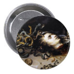 The Head of Medusa Buttons