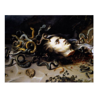 The Head of Medusa Postcard
