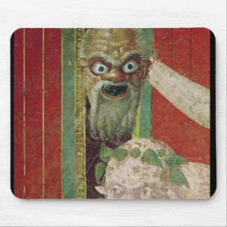 The Head of the Elderly Silenus Mouse Mat