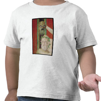 The Head of the Elderly Silenus Tshirts