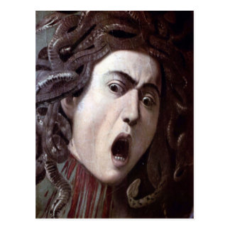 The Head of The Medusa by Michelangelo Caravaggio Postcard
