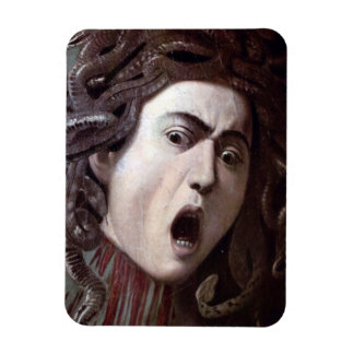 The Head of The Medusa by Michelangelo Caravaggio Flexible Magnets