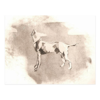 The Headless Dog Postcard