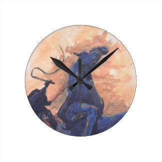 The Headless Horseman Clock