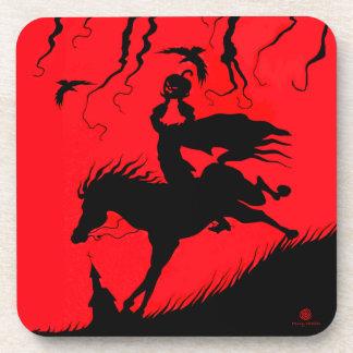 """The Headless Horseman"" Halloween Coaster Set"