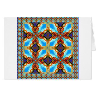 The Healing Center Quad, Framed Greeting Card