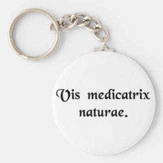 The healing power of nature keychain