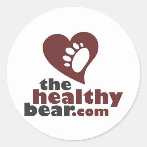 The Healthy Bear Sticker