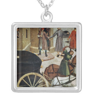 The Hearse Silver Plated Necklace