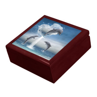 The heart from the Dolphins Gift Box